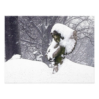 Consoling Angel • Cherub Photo Print