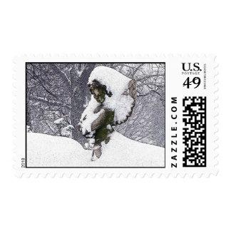Consoling Angel • Cherub Postage Stamp