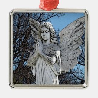 Consoling Angel • Sunshine Metal Ornament