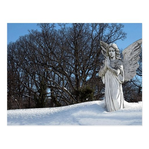 Consoling Angel • Sunshine Post Cards