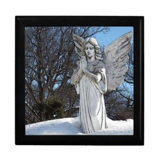 Consoling Angel • Sunshine Trinket Box
