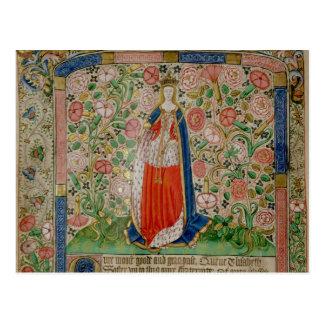 Consorte de reina de Elizabeth Woodville del rey Tarjetas Postales