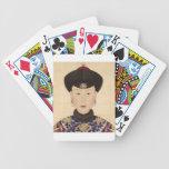 Consorte imperial chino cartas de juego