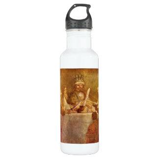 Conspiración bátava, detalle de Rembrandt Botella De Agua De Acero Inoxidable