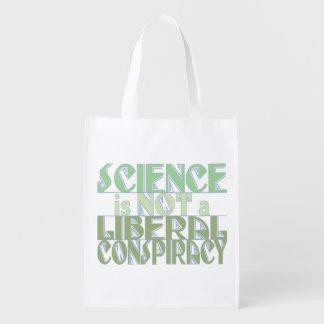 Conspiración verde del liberal de la ciencia bolsas para la compra