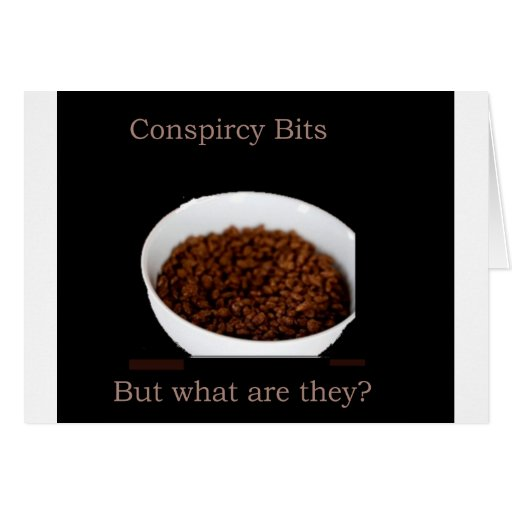 Conspiracy Bits Card