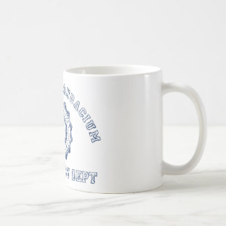 Conspiracy Crest in Blue Coffee Mug