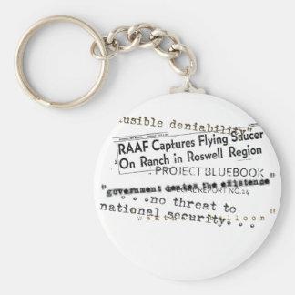 Conspiracy Keychain