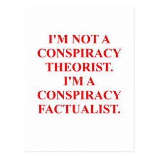 conspiracy postcard