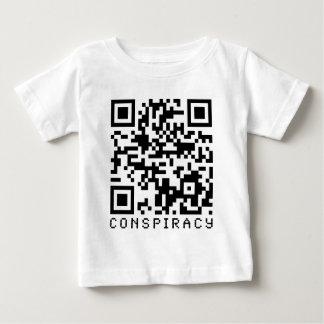 Conspiracy QR Code Baby T-Shirt