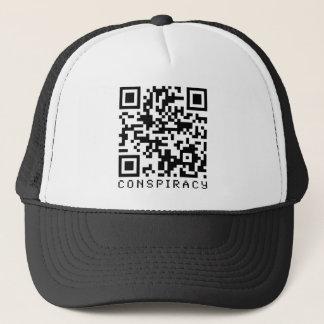Conspiracy QR Code Trucker Hat
