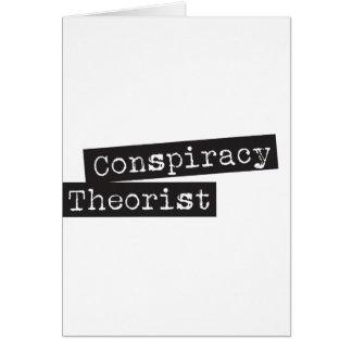 Conspiracy THEORIST Card