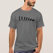 Conspiracy Theorist Human Evolution Sheeple Sheep T-Shirt