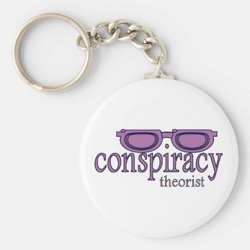 Conspiracy Theorist Key Chains