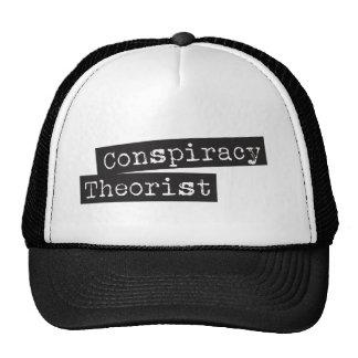 Conspiracy THEORIST Trucker Hat