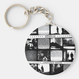 Conspiracy Theory LP Keychain