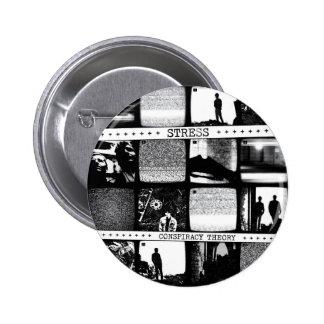 Conspiracy Theory LP Pinback Button