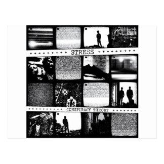 Conspiracy Theory LP Postcard