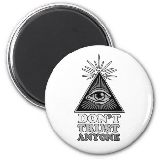 Conspiracy theory magnet