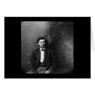 Conspirador Arnold 1865 del asesinato de Lincoln Tarjeta De Felicitación