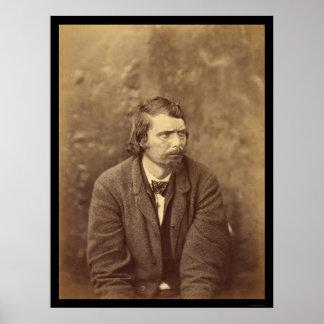 Conspirador Atzerodt 1865 del asesinato de Lincoln Póster