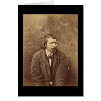 Conspirador Atzerodt 1865 del asesinato de Lincoln Tarjeta De Felicitación