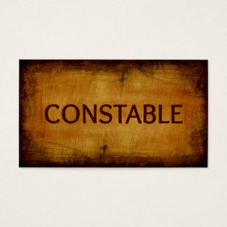 Constable Business Card