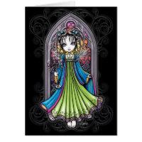 Constance Sunset Guardian Angel Card