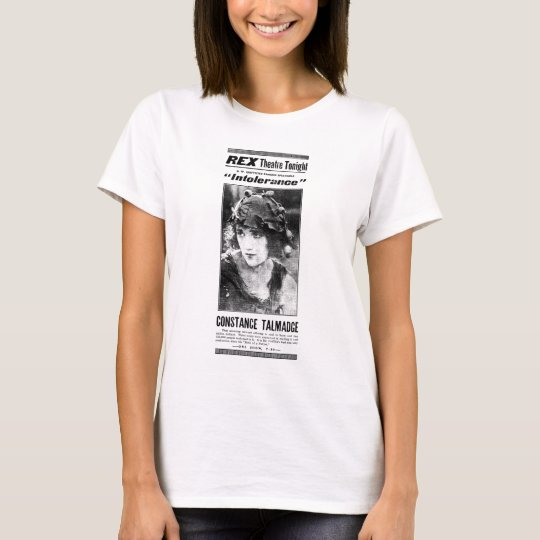 Constance Talmadge 1919 vintage movie ad T-shirt