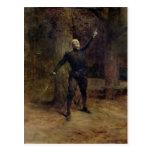 Constant Coquelin  as Cyrano de Bergerac Postcard
