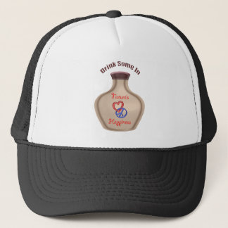 Constant happiness reminder trucker hat
