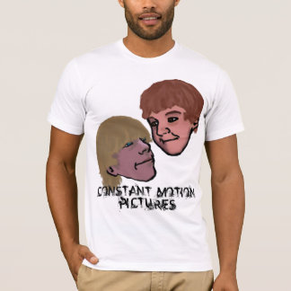 Constant Motion Pictures and Dacomadayproductions T-Shirt