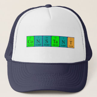 Constant periodic table name hat