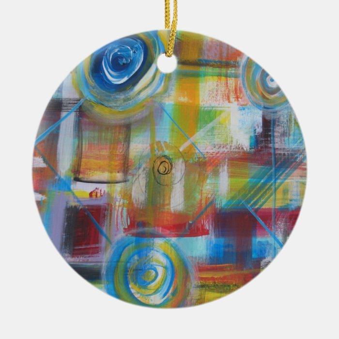 COnstant Velocity 9 Ceramic Ornament