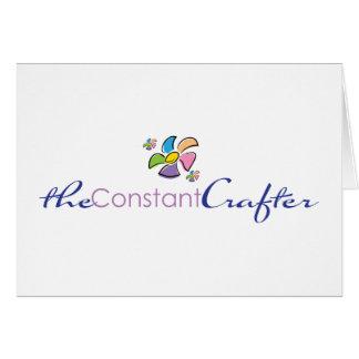 ConstantCrafterLogo Notecards Card