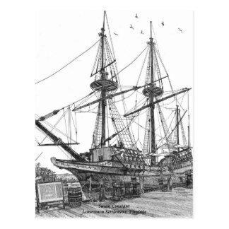 Constante alto de Susan de la nave Postales