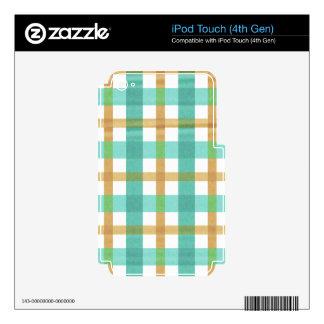 Constante audaz victorioso nuevo iPod touch 4G skins
