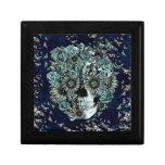 Constante, cráneo de la mariposa de los azules mar cajas de regalo