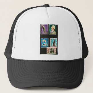 Constantin Brancusi art on stamps Trucker Hat