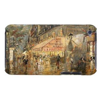 Korovin: Cafe La Marine, Paris