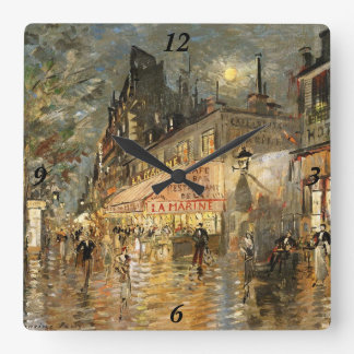 Constantin Korovin: Cafe La Marine, Paris Clock