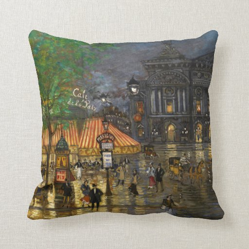 Constantin Korovin: Grand Opera, Paris Pillow