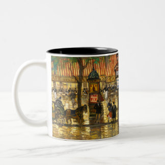Constantin Korovin: Grand Opera, Paris Two-Tone Coffee Mug