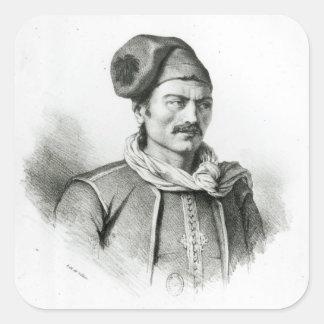 Constantina Kanaris Pegatina Cuadrada