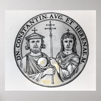 Constantina VI y su madre Irene Poster