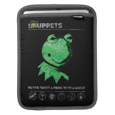 Constantine - Frog with a Mole Sleeve For iPads at Zazzle