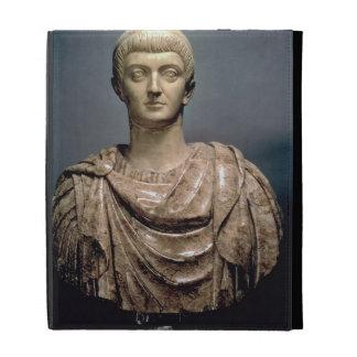 Constantine I (c.274-337) c.350 AD (marble) iPad Folio Cases