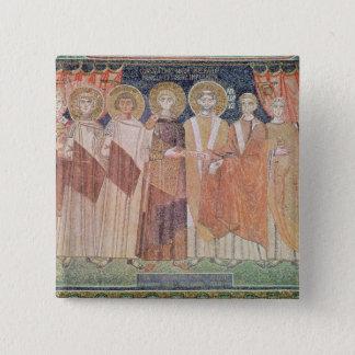 Constantine IV granting Bishop privileges Button