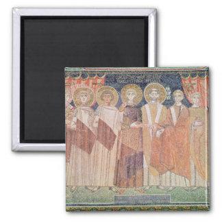 Constantine IV granting Bishop privileges Magnet