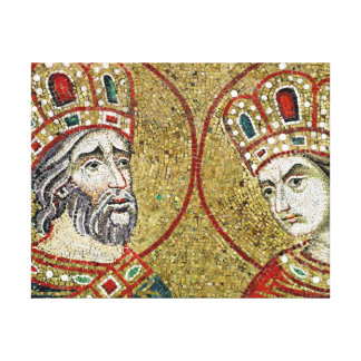Constantine the Great and St Helena Gallery Wrapped Canvas